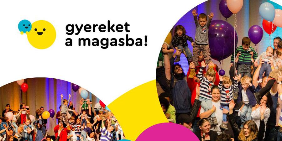 Gyereket a magasba: színi előadások, játékok szombaton a Régi városháza udvarán