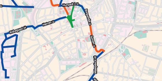 debrecen kerékpárút térkép Wifis biciklitároló is lesz az új kerékpárutak mentén Debrecenben  debrecen kerékpárút térkép