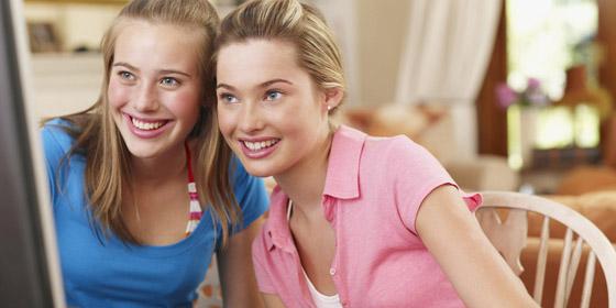 tizenéves lányok kép