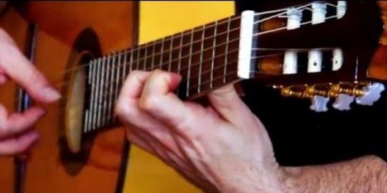 helyszíni találkozón gitáros