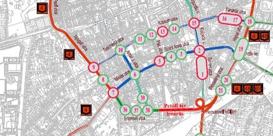 debrecen buszmegálló térkép Térképeken mutatjuk, hogyan változik meg Debrecen közlekedése  debrecen buszmegálló térkép