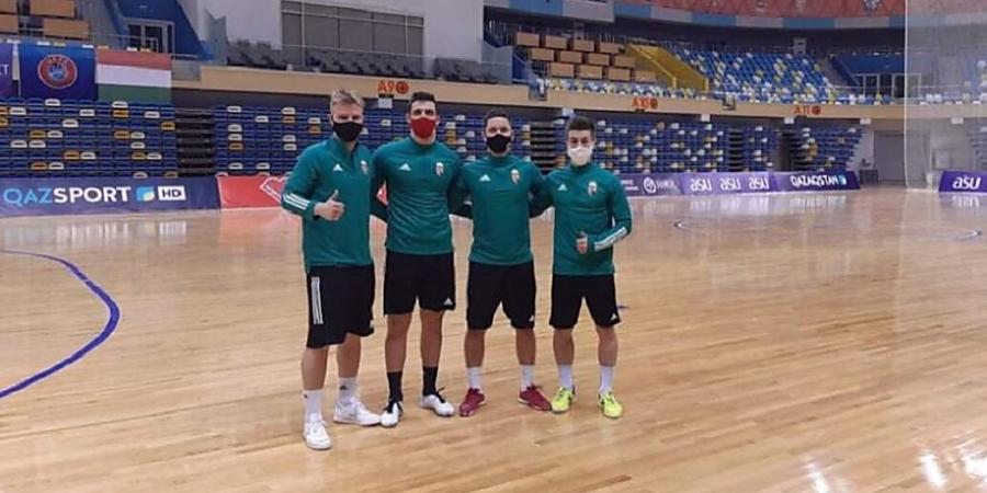 Zord időjárás fogadta a magyar futsalválogatott játékosait Kazahsztánban
