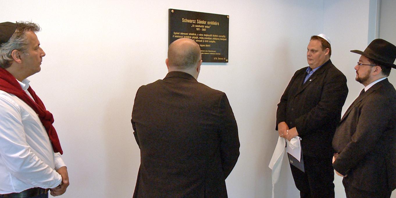 Debrecenben zsinagógában és stadionban is emlékeztek a holokausztra