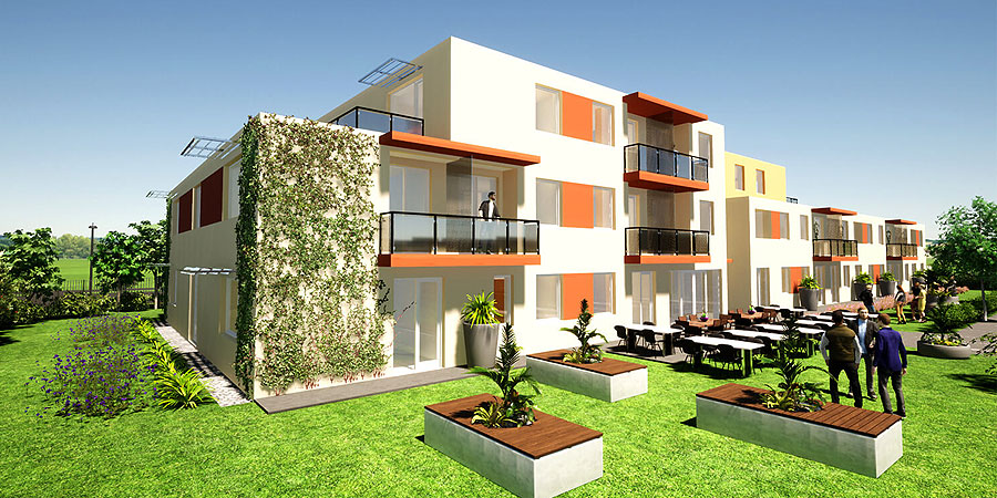 A hotel is being built in Józsa, we show the visual plans