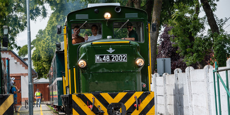 In two weeks, the Zsuzsi railway will start again